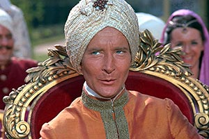 Carry On... Up The Khyber. The Khasi of Kalabar (Kenneth Williams). Copyright: Peter Rogers Productions.