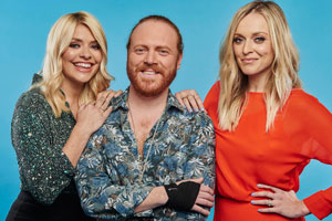 Celebrity Juice. Image shows from L to R: Holly Willoughby, Leigh Francis, Fearne Cotton. Copyright: Talkback.
