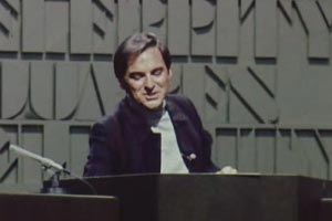 Celebrity Squares. Bob Monkhouse. Copyright: Associated Television.