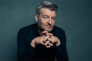 Charlie Brooker's Antiviral Wipe. Charlie Brooker. Copyright: Matt Holyoak.