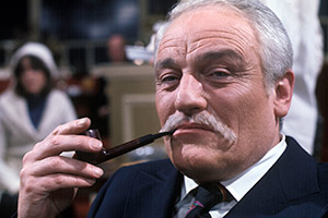 Cheers. Charles (Charles Gray). Copyright: Yorkshire Television.