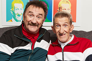 Chuckle Time. Image shows from L to R: Paul Elliott, Barry Elliott. Copyright: So Television.