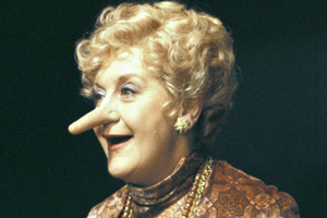 Come Back Mrs. Noah. Mrs Gertrude Noah (Mollie Sugden). Copyright: BBC.