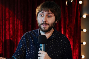 The Comedian's Guide To Survival. James Mullinger (James Buckley).