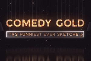 Comedy Gold: TV's Funniest Ever Sketches. Copyright: ITN.
