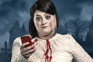 Kiri Pritchard-McLean's Horror: I've Got Your Number. Kiri (Kiri Pritchard-McLean). Copyright: Tiger Aspect Productions.