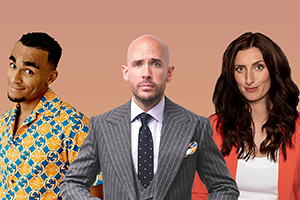 Tom Allen, Jessica Knappett and Munya Chawawa host Complaints Welcome