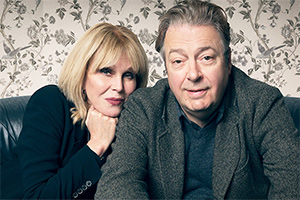 Conversations From A Long Marriage. Image shows from L to R: Joanna (Joanna Lumley), Roger (Roger Allam).
