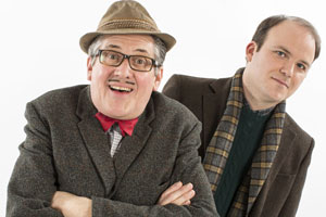 Count Arthur Strong. Image shows from L to R: Count Arthur Strong (Steve Delaney), Michael Baker (Rory Kinnear).