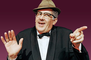 Count Arthur Strong's Radio Show!. Count Arthur Strong (Steve Delaney). Copyright: Komedia Entertainment.