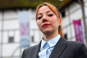 Cunk On.... Philomena Cunk (Diane Morgan).