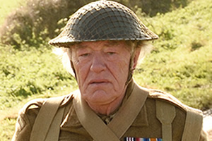 Dad's Army. Private Godfrey (Michael Gambon). Copyright: Universal Pictures / DJ Films.