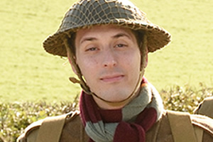 Dad's Army. Private Frank Pike (Blake Harrison). Copyright: Universal Pictures / DJ Films.