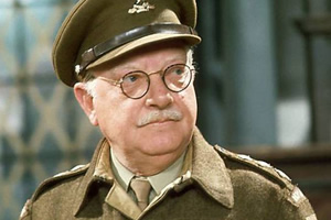 Dad's Army. Captain Mainwaring (Arthur Lowe).