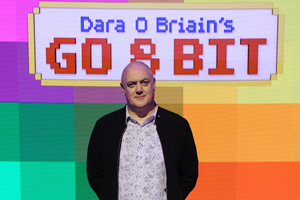 Dara O Briain's Go 8 Bit. Dara O Briain. Copyright: DLT Entertainment Ltd..