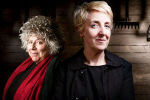 Deadheading. Image shows from L to R: CSM Jo Black (Miriam Margolyes), DCI Alma Blair (Julie Hesmondhalgh). Copyright: Savvy Productions.
