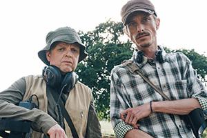 Detectorists' Mackenzie Crook & Toby Jones reunite in Worzel Gummidge