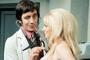 Doctor In Charge. Image shows from L to R: Duncan Waring (Robin Nedwell), Unknown.