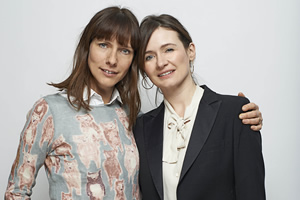 Doll & Em. Image shows from L to R: Doll (Dolly Wells), Em (Emily Mortimer).
