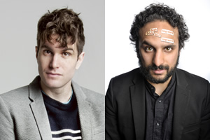 Joel Dommett and Nish Kumar