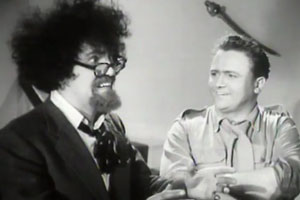 Down Among The Z Men. Image shows from L to R: Professor Osric Pureheart (Michael Bentine), Harry Jones (Harry Secombe).