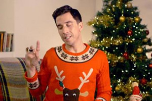 Drunk History. Russell Kane. Copyright: Tiger Aspect Productions.