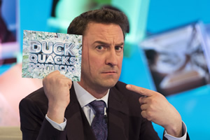 Duck Quacks Don't Echo. Lee Mack. Copyright: Magnum Media.