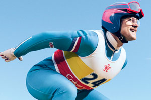 Eddie The Eagle. Michael 'Eddie' Edwards (Taron Egerton).