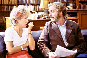 Educating Rita. Image shows from L to R: Rita (Julie Walters), Dr. Frank Bryant (Michael Caine).