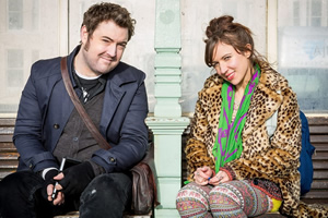Elephant. Image shows from L to R: Him (Nick Helm), Her (Esther Smith).