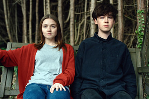 The End Of The F***ing World. Image shows from L to R: Alyssa (Jessica Barden), James (Alex Lawther).