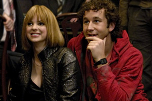 Frequently Asked Questions About Time Travel. Image shows from L to R: Cassie (Anna Faris), Ray (Chris O'Dowd). Copyright: Doglamp Productions.