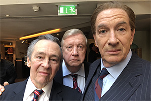The Fast Show: Just A Load Of Blooming Catchphrases. Image shows from L to R: Paul Whitehouse, Mark Williams, Simon Day. Copyright: Crook Productions.