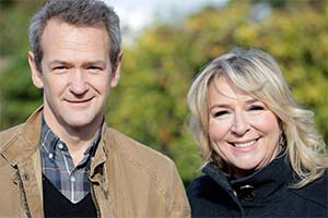 Fern Britton Meets Alexander Armstrong. Image shows from L to R: Alexander Armstrong, Fern Britton. Copyright: BBC.