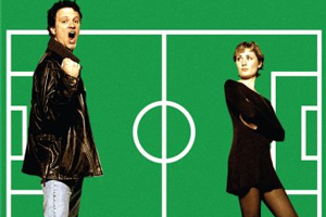 Fever Pitch. Image shows from L to R: Paul (Colin Firth), Sarah (Ruth Gemmell).