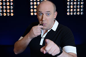 Football Genius. Tim Vine. Copyright: Hat Trick Productions.