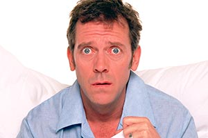 Fortysomething. Paul Slippery (Hugh Laurie).