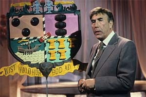 Frankie Howerd Reveals All. Frankie Howerd. Copyright: Yorkshire Television.