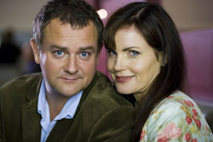 Freezing. Image shows from L to R: Matt (Hugh Bonneville), Elizabeth (Elizabeth McGovern). Copyright: BBC.