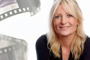 Gaby's Talking Pictures. Gaby Roslin. Copyright: ABsoLuTeLy Productions.