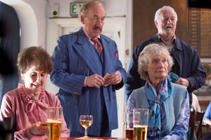 Golden Years. Image shows from L to R: Shirley (Una Stubbs), Royston (Simon Callow), Martha (Virginia McKenna), Arthur (Bernard Hill).