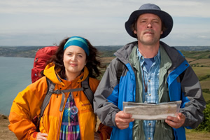 The Great Outdoors. Image shows from L to R: Christine (Ruth Jones), Bob (Mark Heap).