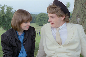 Gregory's Girl. Image shows from L to R: Susan (Clare Grogan), Gregory Underwood (John Gordon Sinclair). Copyright: Lake Films.