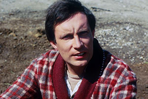 The Hitchhiker's Guide To The Galaxy. Arthur Dent (Simon Jones). Copyright: BBC.