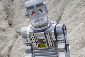 Marvin the Paranoid Android. Copyright: BBC.