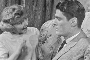 Happily Ever After. Image shows from L to R: Dora Morgan (Dora Bryan), Peter Morgan (Pete Murray). Copyright: ABC Television.
