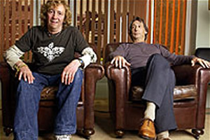 Help. Image shows from L to R: Paul Whitehouse, Peter (Chris Langham). Copyright: BBC.