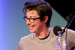 Hold The Front Page. Sue Perkins. Copyright: BBC.