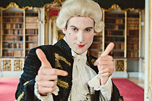 Horrible Histories. Tom Stourton. Copyright: Lion Television.