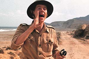 How I Won The War. Lieutenant Ernest Goodbody (Michael Crawford). Copyright: Metro-Goldwyn-Mayer.